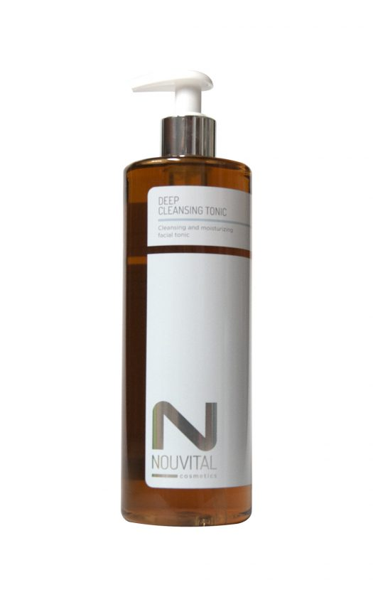Nouvital Deep Cleansing Lotion 250/500 ml bij Angelsbeautyshop.nl